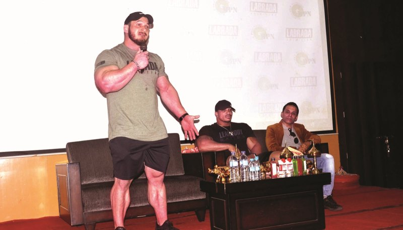 Seminar on Fitness and Nutrition by Labrada Nutrition
