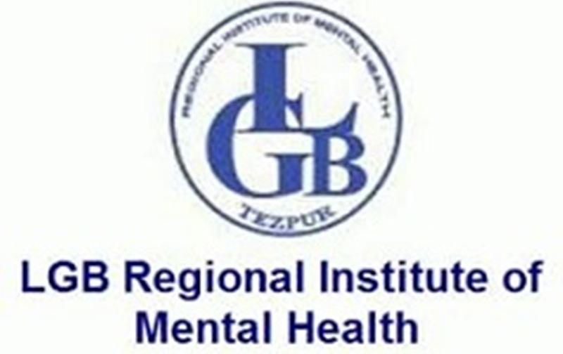 LGB Regional Institute of Mental Health Job 2019