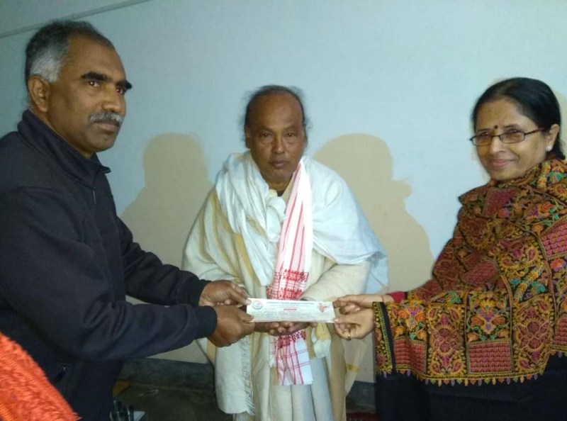 Membership drive by Simanta Chetana Mancha, Purbattar launched at Dhubri