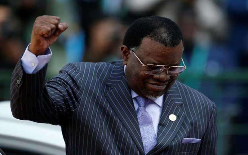 Namibia President Geingob wins second term Electoral Commission