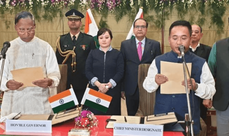 P.S. Golay Swears In As Sikkim Chief Minister Again, Former Council of Ministers Retained