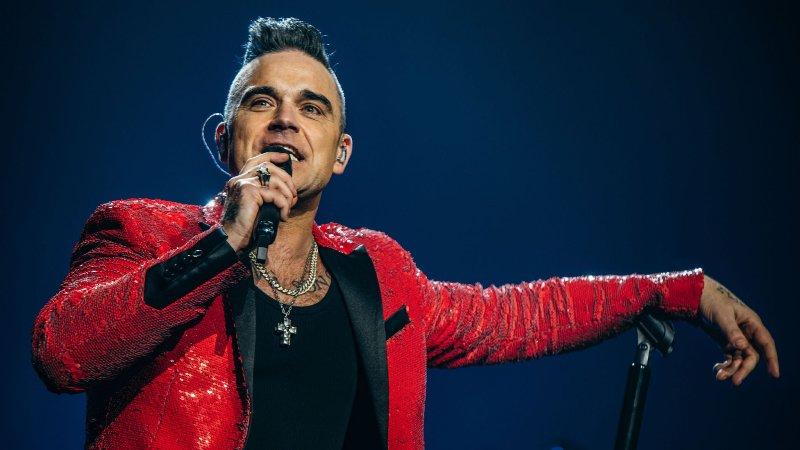 Singer Robbie Williams on overcoming coronavirus symptoms
