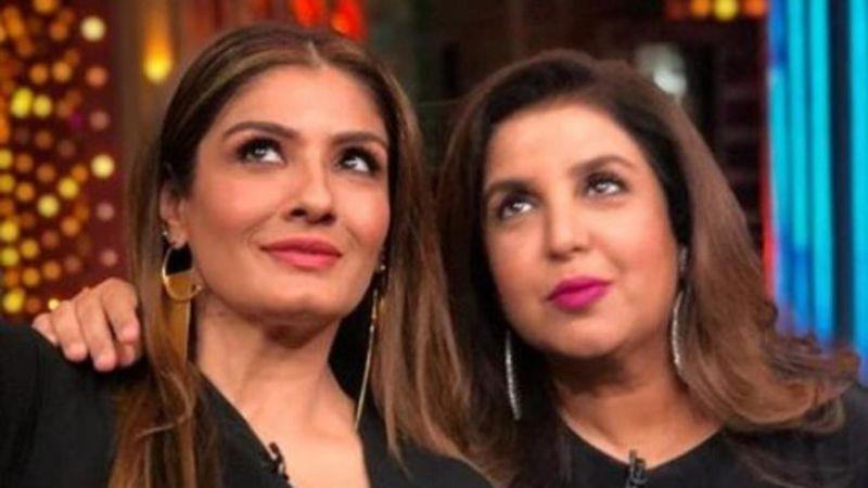 Second case against Raveena Tandon, Farah Khan for hurting Christian sentiments