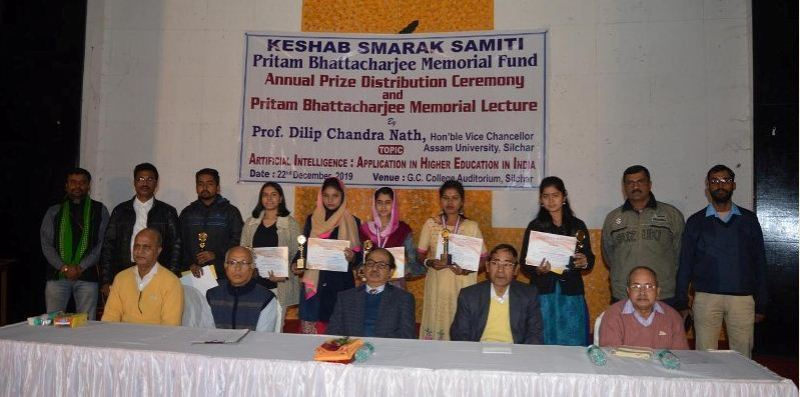 Meritorious students honoured with prizes in Silchar
