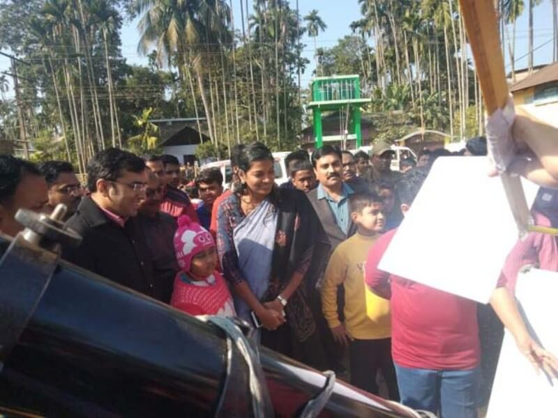 Rare annular Solar eclipse viewing event held in Hailakandi
