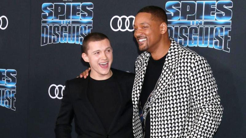 Holywood Actor Tom Holland in Awe of Will Smith
