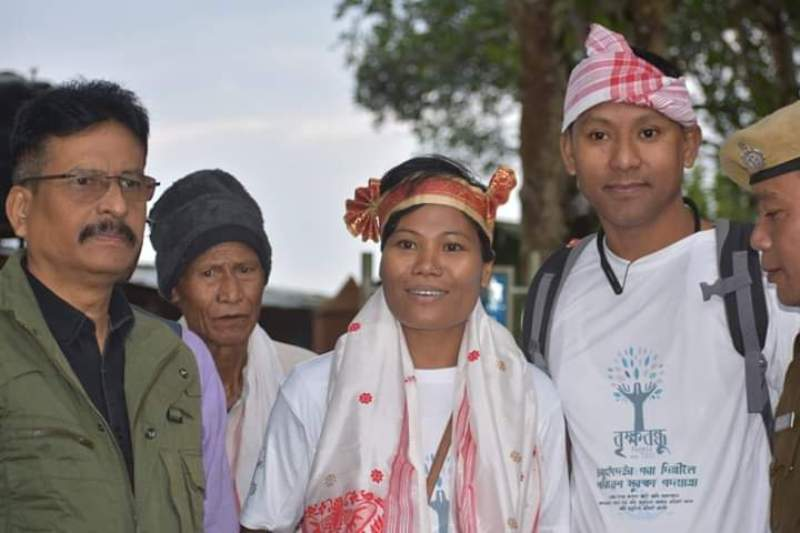 Nijora Phukan plans to create Environmental Awareness in Unique Way