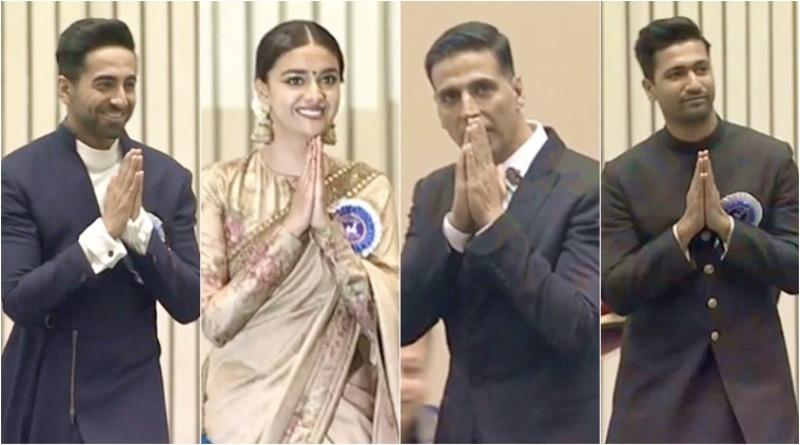 66th National Film Awards: Akshay Kumar, Ayushmann Khurrana, Vicky Kaushal honoured