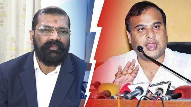 Himanta Biswa Sarma challenges Samujjal Bhattacharya for debate over NRC & CAA