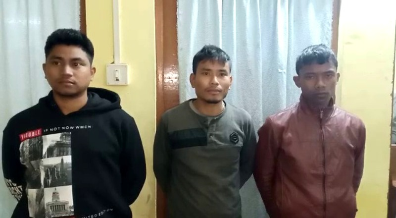 3 ULFA (I) cadres apprehended by security forces in Namrup, Arms seized