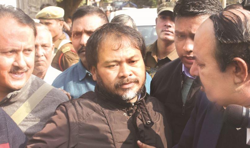 KMSS (Krishak Mukti Sangram Samiti) leader Akhil Gogoi Sent To Jail