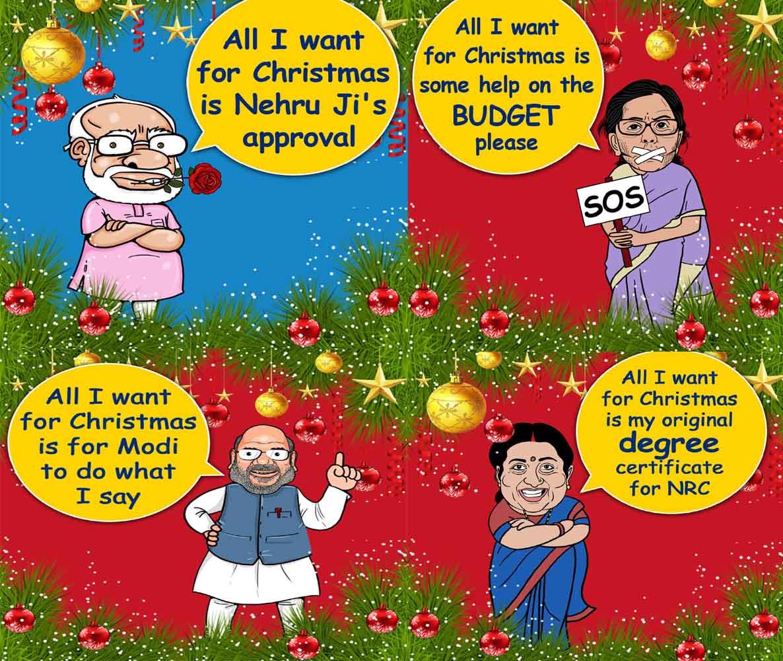 Congress tweaks Christmas song lyrics to mock BJP