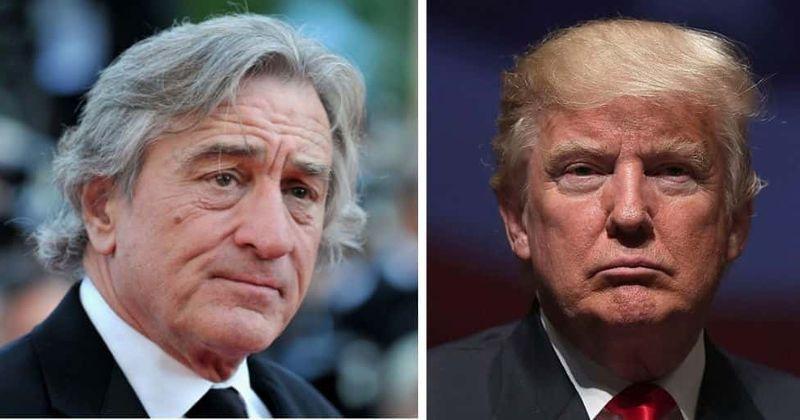 Veteran actor Robert De Niro hits out at US President Donald Trump