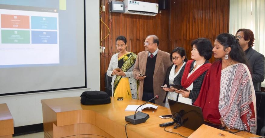 "Cachar DC Laya Madduri launches mobile app ""Infrastructure Quality Analyzer"""