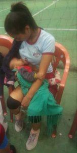 Mizoram Athlete Breastfeeding between Games Is the Most Inspiring Pic on Internet