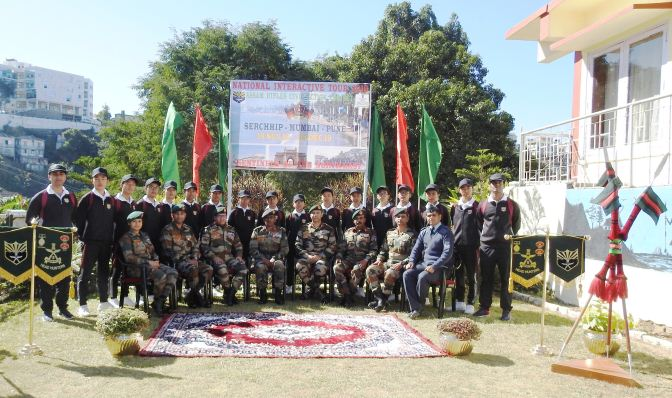 Assam Rifles national tour for students flagged in Aizawl