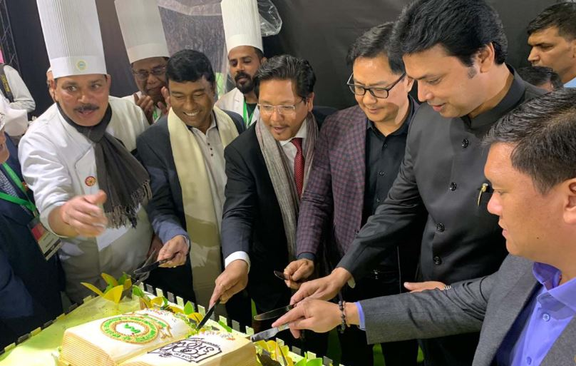Kiren Rijiju, Teli, 3 NE CMs attend Chief Ministers' Conclave of NE Food Show