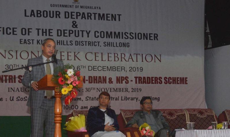 Pension Week launched in Meghalaya