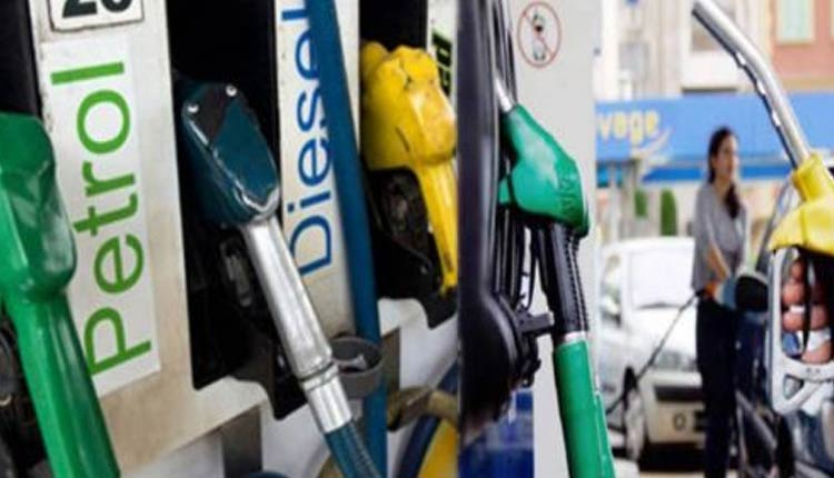 Diesel prices up by 17-18 paise,while no change in petrol price