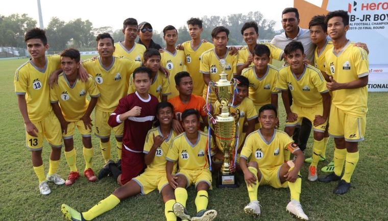 Meghalaya crowned sub-junior national football championship title