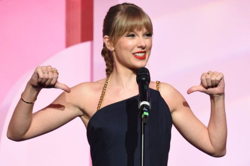 Taylor Swift slams 'toxic male privilege' at a Music Event