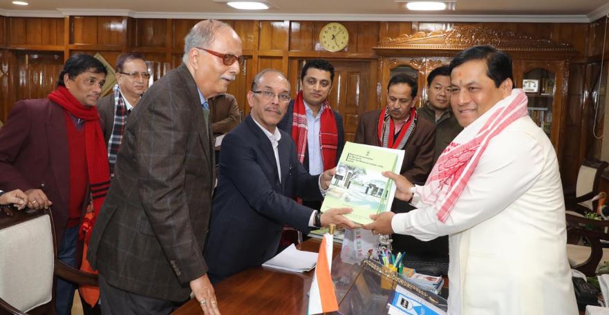 Report on tea industry & TTRI submitted to CM Sarbananda Sonowal