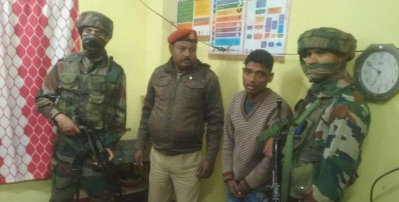 AANLA cadre apprehended in Mangaldai