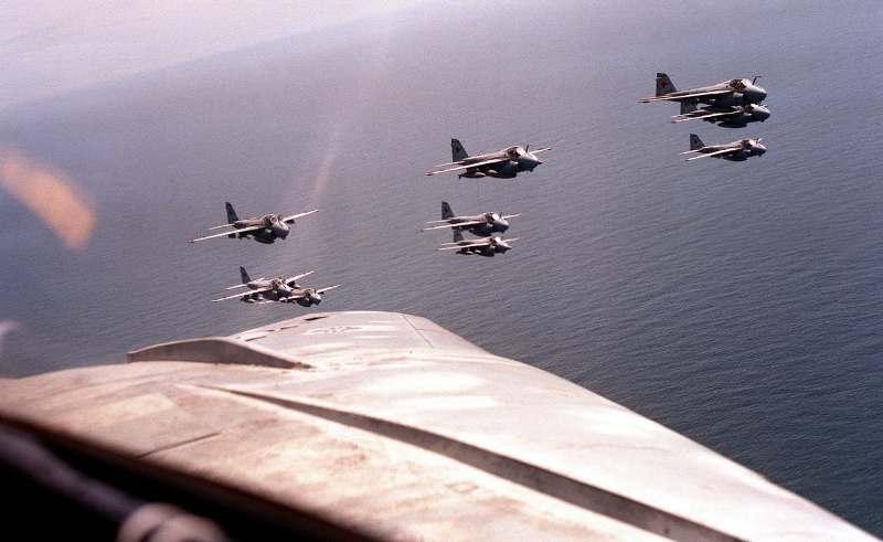 Uncle Sam again flies surveillance aircraft over the Korean Peninsula