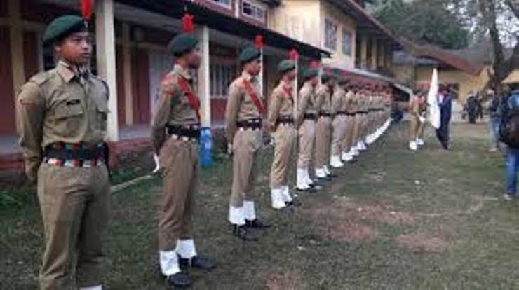 Annual training camp for NCC cadets underway At Dibrugarh