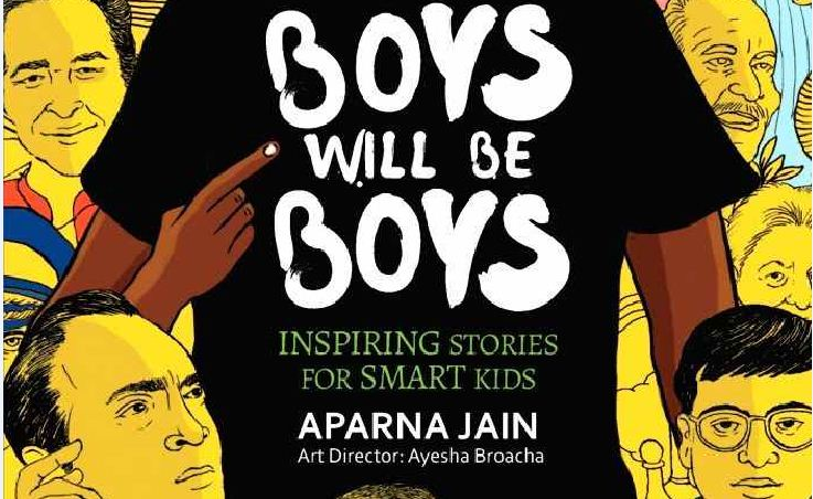 Now, author Aparna Jain focuses on men who broke the mould