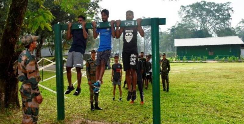 Army Conducts Pre-Recruitment Training for Tinsukia youths