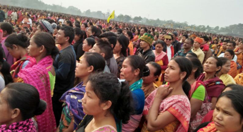 Signatories of BTR accord receive rousing welcome in Kokrajhar