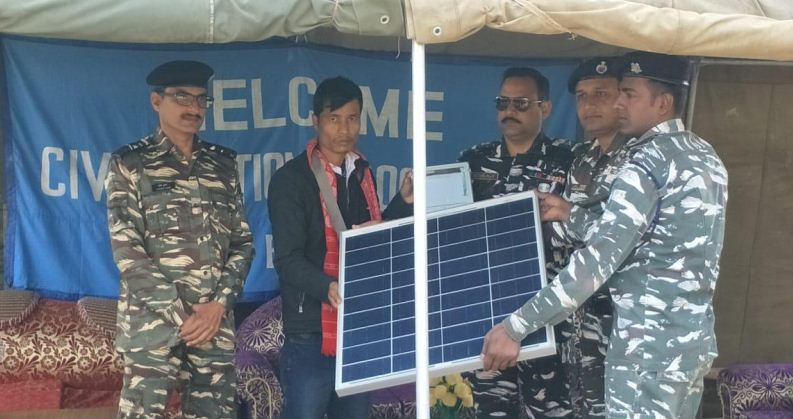 142 Battalion CRPF organizes Civic Action Programme in Golaghat