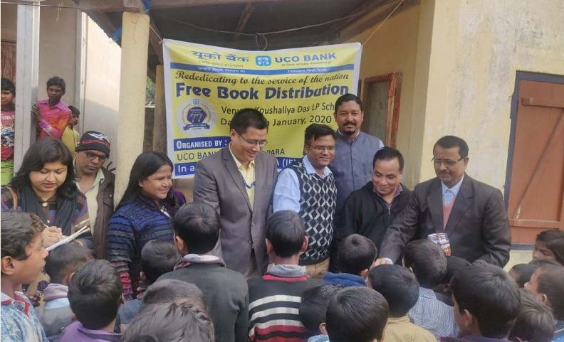 UCO Bank observed its 77th foundation day at Goalpara
