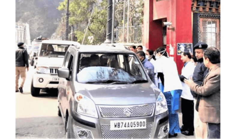 Screening Camp Set Up At Rangpo in Sikkim to detect Coronavirus affected people