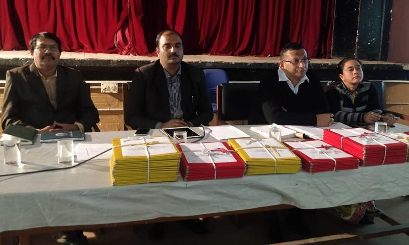 Tezpur DC Manvendra Pratap Singh reviews progress of schemes under 14th Finance Commission