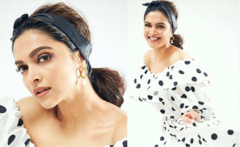 Deepika Padukone looks all retro in this dress!