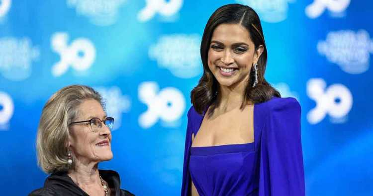 Deepika Padukone feted with global honour for mental health awareness drive