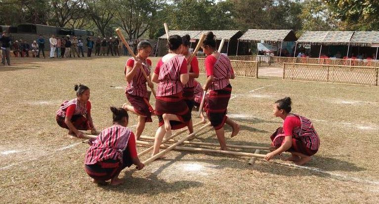 Karbi Cultural Games kicks off at Karbi People Hall Taralangso, Diphu
