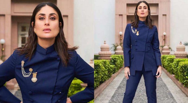 Kareena just flaunted a royal bandhgala