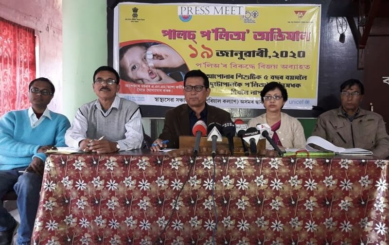 Health Department of Lakhimpur district all set to administer polio drops