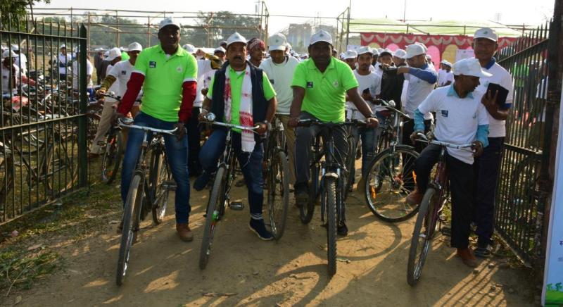 Saksham Cycle Day-2020 organized by Numaligarh Refinery Limited (NRL)
