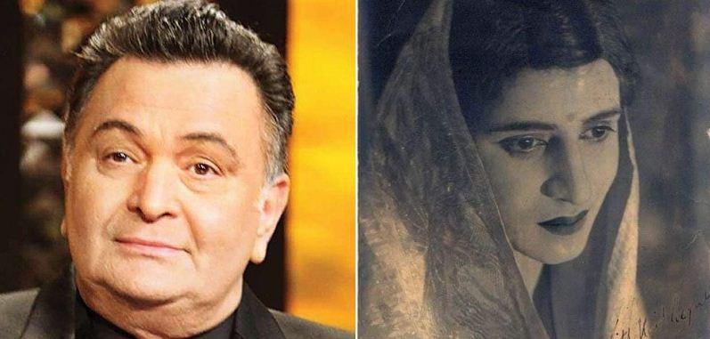 Veteran actor Rishi Kapoor tweets photo of Pran disguised as woman