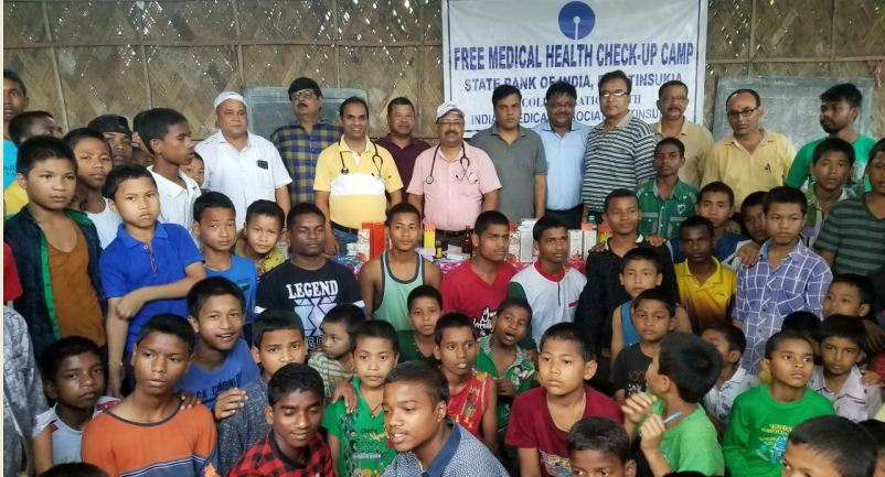 SBI Tinsukia RO provides assistance in running male orphanage at Tinsukia