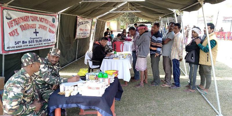 54th Corps SSB organizes free medical camp in Kokrajhar