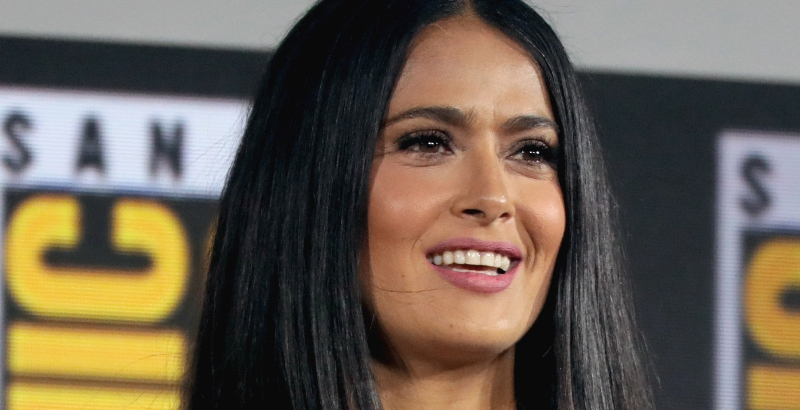 Salma Hayek on women in Hollywood 'We're on the right path'