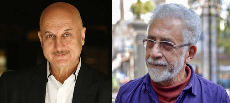 Actor Naseeruddin Shah is 'frustrated': Anupam Kher's retort to 'clown' jibe