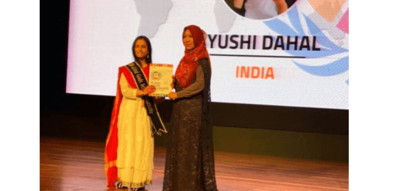 Sikkim Girl Ayushi Dahal Brings Laurels To State, Wins Gold at UN Summit