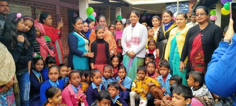 Sivasagar DClaunches 'Praveshotsav- the Utsav Vidyarambha' to welcome students
