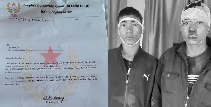 Two People's Democratic Council of Karbi Longri cadres apprehended in Karbi Anglong